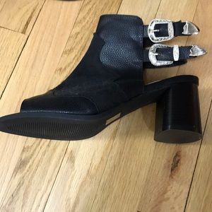 Nasty Gal ankle boots open toe